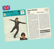 1979 Sportscaster Usa Rencontre Card Robin Cousins Olympic Champion Skater - Mt
