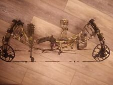 """New listing Hoyt Carbon RX4 RH 28-30"""" 60-70lb in Underarmour camo Package"""