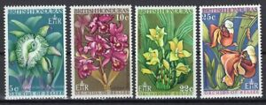 BRITISH HONDURAS 1969 STAMP Sc. # 226/9 MNH FLOWERS