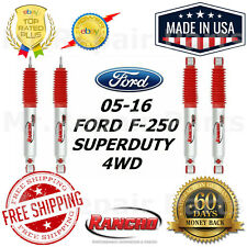 Rancho RS9000XL Front & Rear Shock Absorbers For 05-16 Ford Superduty F-250 4WD