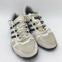 Men's Adidas Bounce Running Shoes, Black /white, Size 9.5