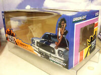 CARD BOX FOR 1/18 GREENLIGHT 1976 FORD MUSTANG II 2 COBRA II CHARLIE'S ANGELS