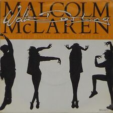 "MALCOLM McLAREN AND THE BOOTZILLA ORCHESTRA 'WALTZ DARLING' UK PIC/SLV 7"" SINGLE"