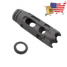 F&N Tactical .308 Muzzle Brake 5/8x24 Tpi w/ Crush Washer-2K308