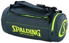Spalding baloncesto Duffle Bag funda deportiva antracita amarillo 40 litros