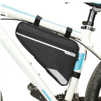 Waterproof MTB Road Bike Cycling Triangle Large Tube Frame Bag multiple colour