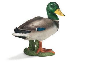 NEW SCHLEICH 13654 Drake Duck Model 4.5cm Poultry - RETIRED