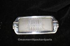 1950-52 Mopar (Dodge?) Dome Light Lens & Bezel  - nice!