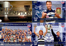 2011 Select AFL Geelong Premiership Limited Edition 3-Card Set + Redemption