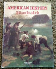 American History Illustrated April 1977, Cover by W.B, Wollen
