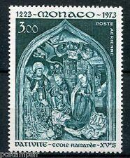 MONACO 1973, timbre aérien 96, NOEL, CRECHE, neuf**, VF AIRMAIL STAMP