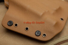 20x Pack - K3 Black Mounting Screws Assembly Hardware Kydex Holster Knife Sheath