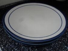 More details for marks and spencer sennen dinner plates x 3 - dark blue