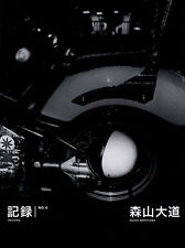 "Daido Moriyama ""Record No.6"" photo book with signed 1st edition Japan"