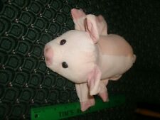 """Glove / Hand Puppet ~Pink PIG ~ Plush ~ CALTOY ~ Approximately 10"""" ~ NEW"""