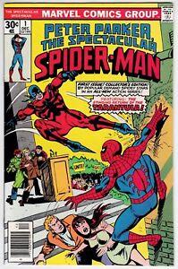 Spectacular Spider-Man #1 VF 8.0 First Issue Sal Buscema Art!