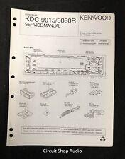 Original Kenwood KDC-9015 / 8080R CD Receiver Service Manual