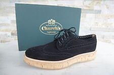 Church's Gr 38 Budapester Schnürschuhe Schuhe KEELY shoes schwarz  NEU UVP 395 €