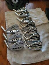 Set of 10 Callaway Apex/Apex Pro 16 Iron Heads 4-P + 3 Wedge 50/54/58
