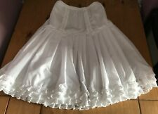 White cotton petticoat for every day wear