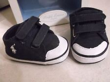 Ralph Lauren LAYETTE Baby 3 - 6 months Toddler POLO  Shoes SIZE 2 Navy 26739