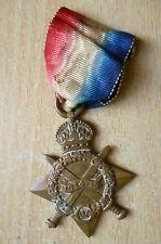 Medal- WW I 1914-15 Star Medal to 60513 R.F.A (Full SIZE, Original)