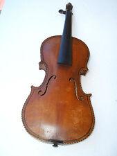Antique violin fiddle Lion Head violín violín con cabeza de león violon Leon violino
