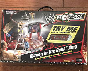 WWE Flexforce Money In The Bank Ring Ladder Playset