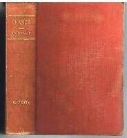 Chance A Tale in Tow Parts by Joseph Conrad 1914 Rare Book! $
