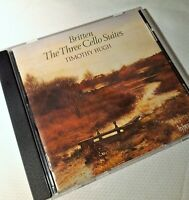 Britten, The Three Cello Suites, Timothy Hugh, Hyperion CD A66274, NM