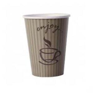 8/9oz Enjoy Single Wall Hot Cup (Qty 1000)