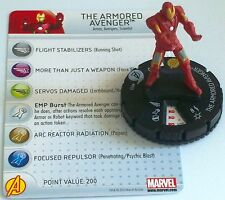 THE ARMORED AVENGER(IRON MAN) #003 Avengers Movie Marvel HeroClix