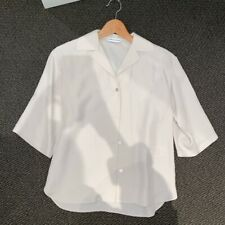 Scanlan Theodore Powdered Viscose Off White 'Frappe' Shirt Top Size 6