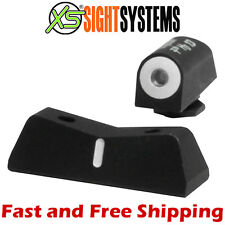 XS S&W M&P 9/40/45 FS&Compact SD9/40 VE Big Dot Tritium Express Night Sight -DXW
