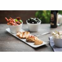 VIVO New Fresh Collection Servierset 4 tlg. Servierschale Schüssel Porzellan