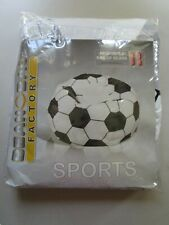 Bean Bag Factory Soccer Ball Bean Bag Chair Cover- BEANS NOT INCLUDED