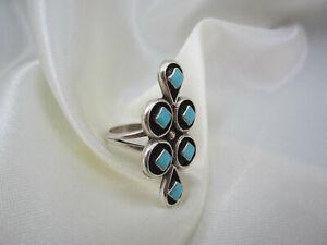 Indianerschmuck Ring aus Sterlingsilber