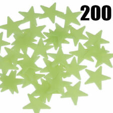 Glow in The Dark Stars Multi Pack Wall Stickers Kids Bedroom Nursery Ceiling Fun 200