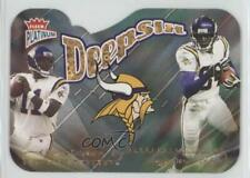 2004 Fleer Platinum Deepsix Daunte Culpepper Randy Moss #4DS HOF