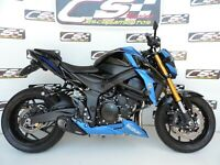 Suzuki GSX-S 750 Full system Exhaust Muffler dB Killer CS Racing Click for Video