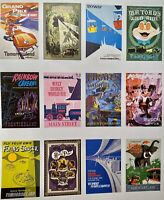 DISNEY PARKS VINTAGE ATTRACTION POSTER ART RETIRED TOMORROWLAND TOAD JINGLE