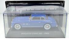 Bugatti Type 101 Année de construction 1951 bleu échelle 1:43