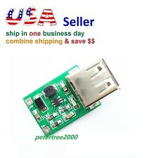 DC 3V to 5V USB Output Charger Step Up Power Module DC-DC Boost Converter