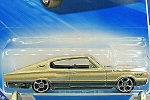 HOT WHEELS VHTF 2010 MUSCLE MANIA SERIES 67 DODGE CHARGER