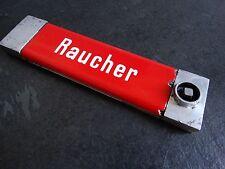 Emailschild Raucher/Nichtraucher aus DB Deutsche Bahn Eisenbahn Zug