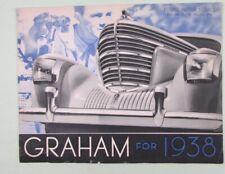 1938 GRAHAM AUTOMOBILE FOLDOUT LITERATURE