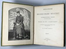 Supernatural Vision Second Sight Author Signed Book Harry Hermon 1884 Magic Rare