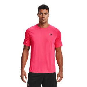 Under Armour Mens Tech 2.0 Short Sleeve T Shirt Tee Top Pink Sports Gym
