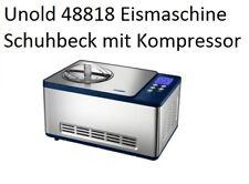 Unold 48818 Eismaschine-Schuhbeck - exklusiv