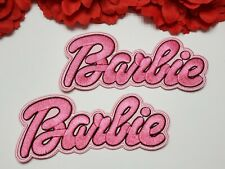 2pc/set, Barbie  patches, Letter patches, Iron on